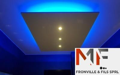 Fronville & Fils sprl  - Réalisations